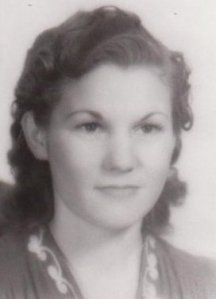 Helen Hagan Robinson, my beautiful mother, probably around 19 or 20 years old