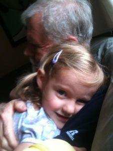 Grandpa David and Zoe