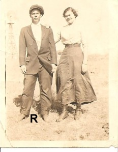 Ralph and Alva Hagan long before they were grandparents.