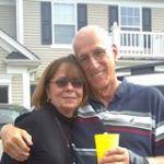 Linda Wilkins and her husband Jack.