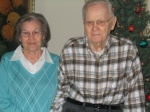 Mom and Dad, Christmas 2009