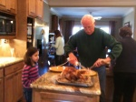 and the turkey was delicious.