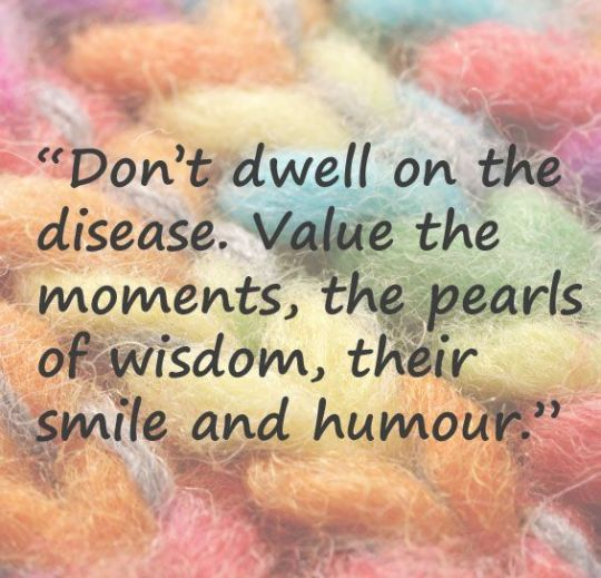 Don't Dwell on the disease