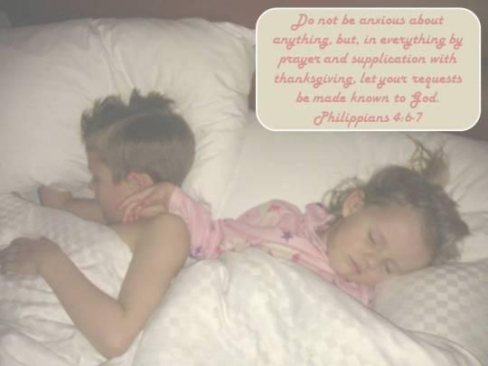 Kids asleep