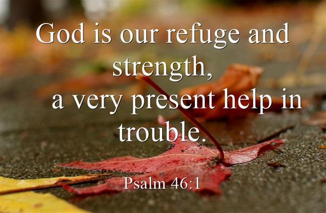 Bible Verses For Caregivers U2013 God Is Our Refuge | By Linda Brendle