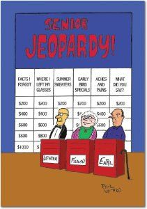 Senior Jeopardy