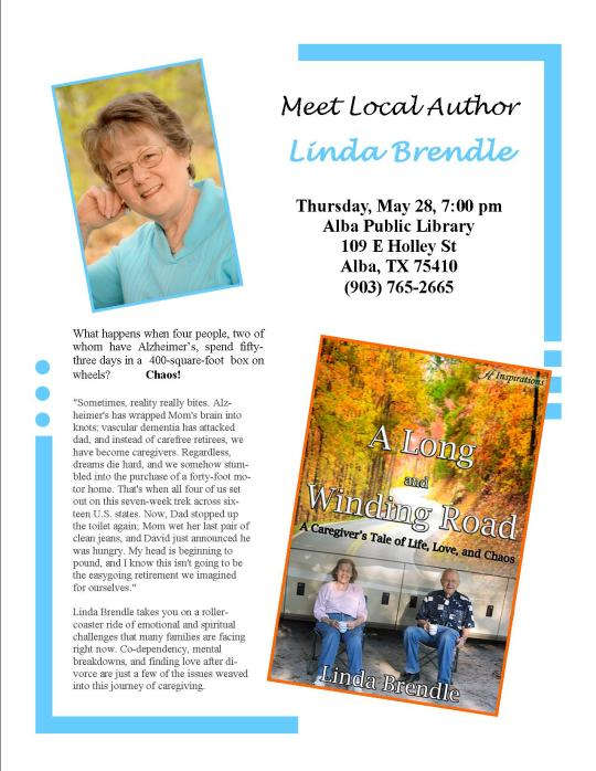 Book Signing Flyer Alba