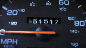 High mileage odometer