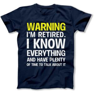 retired t-shirt