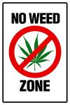 No weed zone