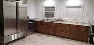 Rose Community Center kitchen