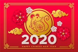 Happy Chinese New Year Rat
